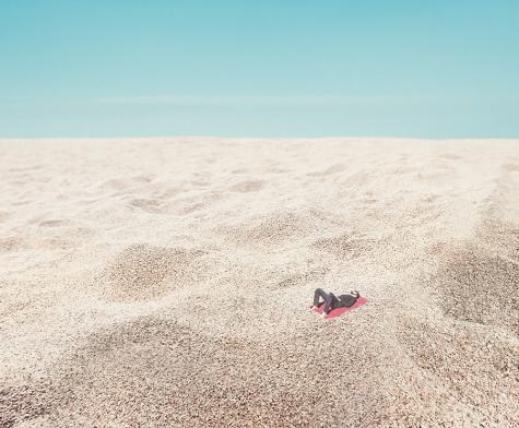 Un desierto entre las dunas