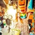 Giselle por las calles de Marrakech