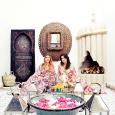 Adriana y su socia Giselle en su tienda en Marrakech